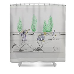 Close Play At First Shower Curtain