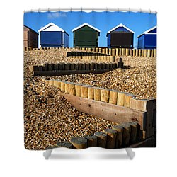 Shower Curtain featuring the photograph Closed For The Winter by Wendy Wilton