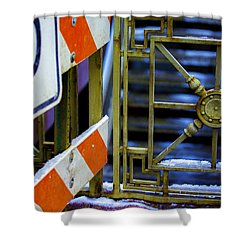 Closed Walkway Shower Curtain