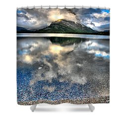 Shower Curtain featuring the photograph Cloud Catcher by David Andersen