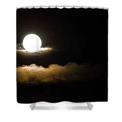 Cloud Cradle  Shower Curtain by Mary Ward