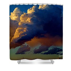 Cloud Family Shower Curtain