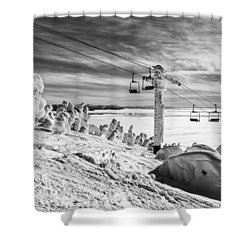 Cloud Lift Shower Curtain