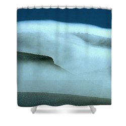 Cloud Mountain Shower Curtain by Ed  Riche