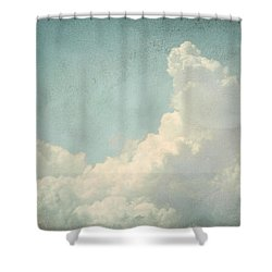 Cloud Series 4 Of 6 Shower Curtain by Brett Pfister