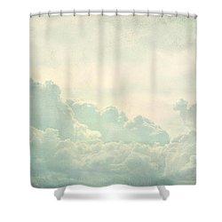 Cloud Series 5 Of 6 Shower Curtain by Brett Pfister