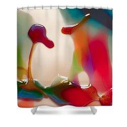 Cloud Talking Shower Curtain by Omaste Witkowski