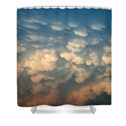 Cloud Texture Shower Curtain