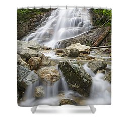 Cloudland Falls - Franconia Notch State Park New Hampshire Usa Shower Curtain