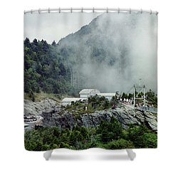 Clouds Coming In Shower Curtain