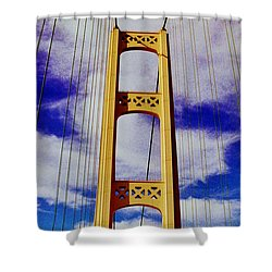 Shower Curtain featuring the photograph Clouds by Daniel Thompson