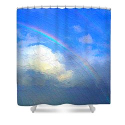 Clouds In Ireland Shower Curtain