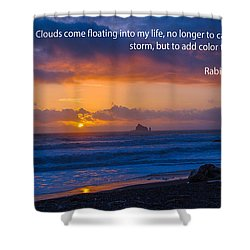 Clouds In Life Shower Curtain