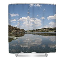 Clouds On Water Shower Curtain