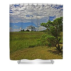 Clouds Over Hatteras Shower Curtain