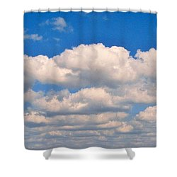 Clouds Over Lake Pontchartrain Shower Curtain