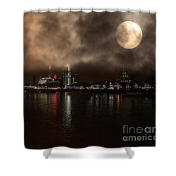 Victoria London  Shower Curtain