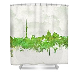 Clouds Over Toronto Canada Shower Curtain by Aged Pixel