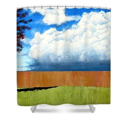 Cloudy Day Shower Curtain