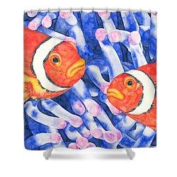 Clownfish Couple Shower Curtain