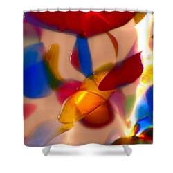Clowning Around Shower Curtain by Omaste Witkowski