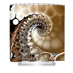 Clutch Shower Curtain by Kevin Trow