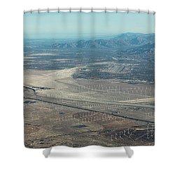 Coachella Valley Shower Curtain