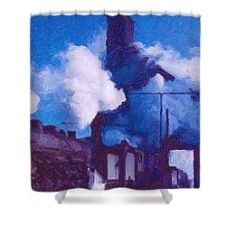 Coal Station Shower Curtain