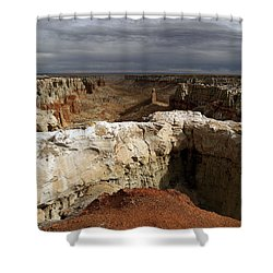 Coal Mine Mesa 08 Shower Curtain