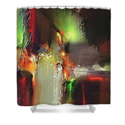 Coalition Shower Curtain by Francoise Dugourd-Caput