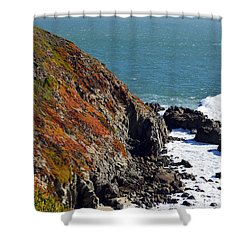 Coast Shower Curtain by Brent Dolliver