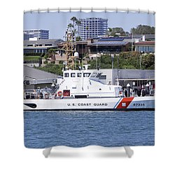 Coast Guard Shower Curtain by Shoal Hollingsworth