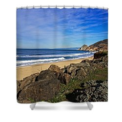 Shower Curtain featuring the photograph Coastal Beauty by Dave Files
