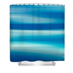 Coastal Horizon 7 Shower Curtain by Delphimages Photo Creations