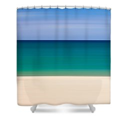 Coastal Horizon 8 Shower Curtain by Delphimages Photo Creations