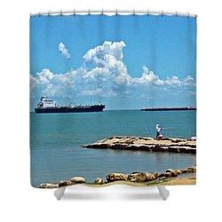 Coastal Living Shower Curtain