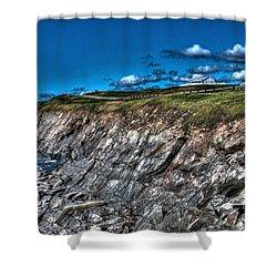 Shower Curtain featuring the photograph Coastal Nova Scotia by Joe  Ng