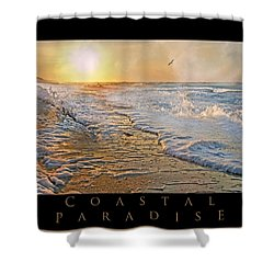 Coastal Paradise Shower Curtain