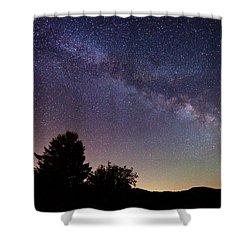 Coastal Skies Shower Curtain by Darren  White