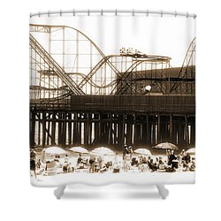 Coaster Ride Shower Curtain