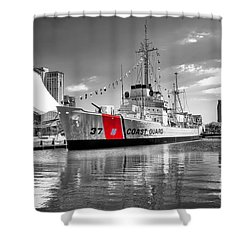 Coastguard Cutter Shower Curtain