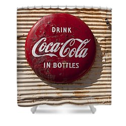 Coca Cola Sign   #0636 Shower Curtain