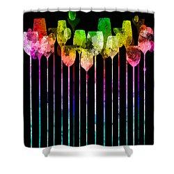 Cocktail Hour 1 Version 4 Shower Curtain