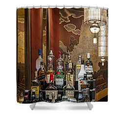 Cocktail Hour Shower Curtain by Susan Candelario