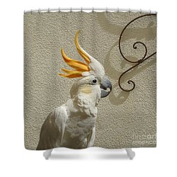 Cocky Too Shower Curtain