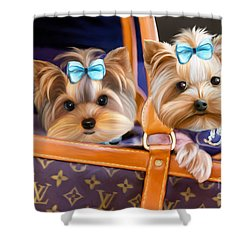 Coco And Lola Shower Curtain