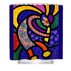Coco Koko Pelli Shower Curtain