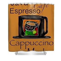 Coffee Break Shower Curtain