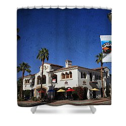 Coffee Spot Shower Curtain by Laurie Search