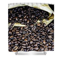 Coffee Unmilled  Shower Curtain